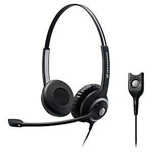 Sennheiser SC260 phone headset with cord - binaural