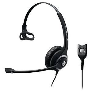 Sennheiser SC230 telefoon headset met snoer, monauraal met 1 oorschelp