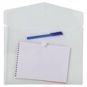 Pack de 5 bolsas de plástico Exacompta - A4 - PP - transparente
