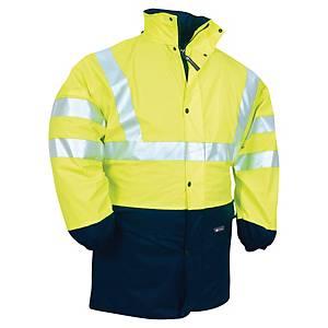 Veste de pluie haute visibilité Codupal Maduo Zipal - jaune fluo - taille M