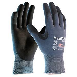 Gants anti-coupures ATG MaxiCut 44-3745 avec nitrile, taille 8, 12 paires