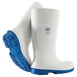 NETCO AVEYRON PVC SAFETY BOOTS  WHITE 42