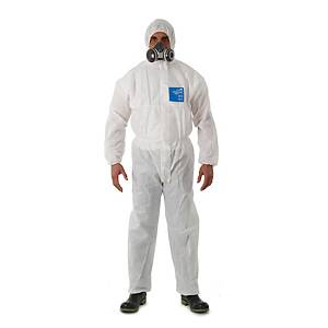 Protective suit, Microgard 1500 Plus model 111, size M, white