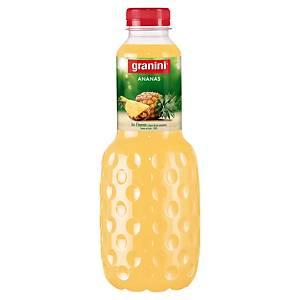 Jus d ananas Granini 1 L - pack de 6 bouteilles
