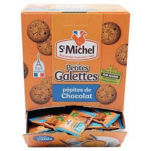 Petite galette pépites de chocolat St Michel - boîte de 200 biscuits