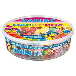 Assortiment de bonbons Haribo Happy Box - boîte de 600 g