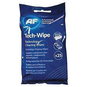 AF MOBILE TECHNOLOGY WIPES PACK OF 25