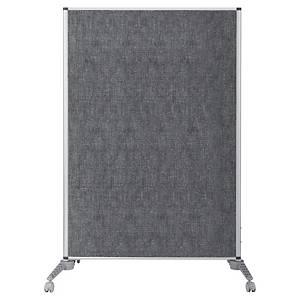 Cloison de séparation Bi-Office, 100 x 150 cm, gris