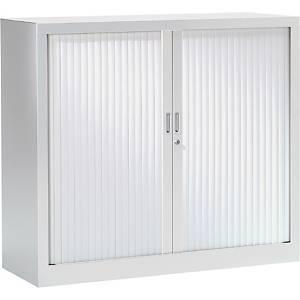 Armoire à rideaux monobloc Pierre Henry - 100 x 120 cm - blanche