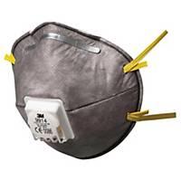 Caja de 10 mascarillas desechables 3M 9914 - FFP1 - moldeadas con válvula