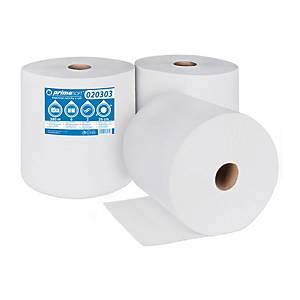 Papierové priemyselné utierky v roli PrimaSoft BIG 380 PLUS