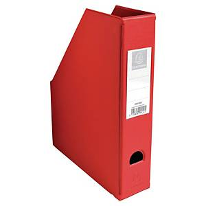 Tidsskriftkassett Exacompta, 7 cm, rød