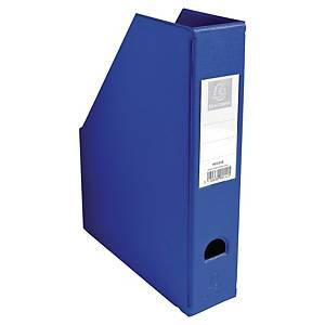 Tidsskriftholder Exacompta, 7 cm, blå