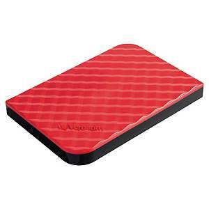 Disque dur externe Verbatim - USB 3.0 - 1 To - 2,5  - rouge