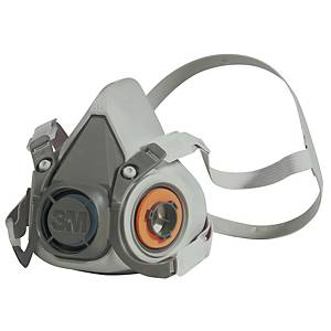 Meia máscara reutilizável 3M 6100 - tamanho L
