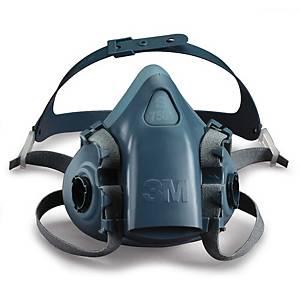 Halvmaske 3M 7501, åndedrætsmaske, str. s