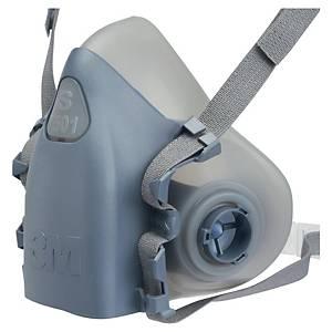 Halvmaske 3M 7501, åndedrettsmaske, str. S