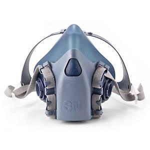 Halvmaske 3M 7503, åndedrætsmaske, str. L