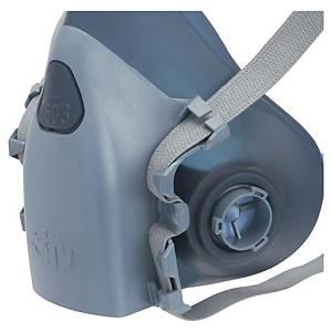 Halvmaske 3M 7503, åndedrettsmaske, str. L