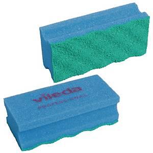Svamp Vileda Puractive, blå, pakke a 10 stk.