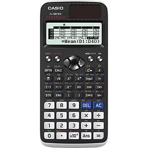 Vědecká kalkulačka Casio FX-991EX, 192 x 63 bodový displej, černá