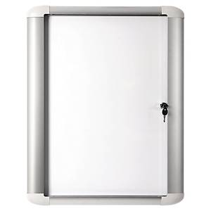 Glasschaukasten mit Tür für Außenbereich, 816 x 995 mm, Format: 9xA4