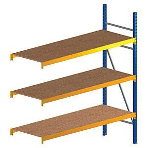 Rayonnage Provost Proprack+ - 3 niveaux - 210 x 130 x 80 - élément suivant