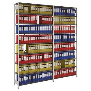 Rayonnage Provost Proclass - 8 étagères - 100 x 220 x 36,2 cm - élément départ