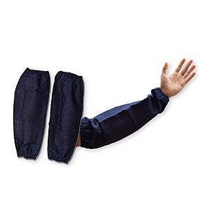 ปลอกแขน AI140-242 ผ้ายีนส์ สีน้ำเงิน
