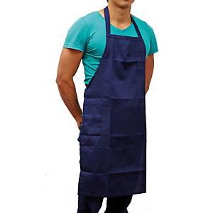 ผ้ากันเปื้อน AM221-222 ทีซี สีน้ำเงิน