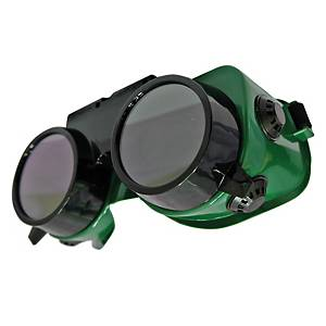 DELIGHT GW250 SAFETY GOGGLES SHADE 5 GREEN