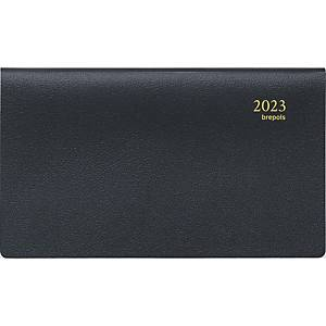Brepols Omniplan 738 pocket diary with Genova cover black