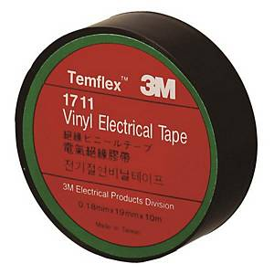 PK10 3M 1711 INSULATE TAPE 19MMX10M BLACK