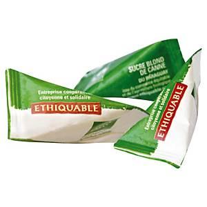 Sucre de canne en poudre bio Ethiquable - boîte de 1000 berlingots