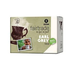 Oxfam thé Earl Grey 1,8gr - paquet de 20