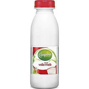 Campina volle melk, 0,5 l, pak van 6 flessen