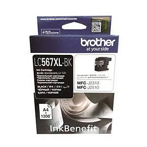 BROTHER LC-567XLBK I/JET CART BLK