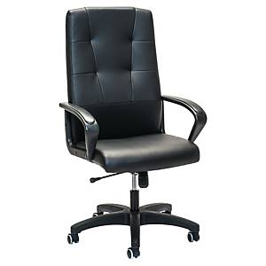 Chaise de bureau Prosedia 4306, dossier haut, noir