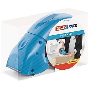 Precintadora manual Tesapack Pack N Go para cintas de embalaje hasta 66 m