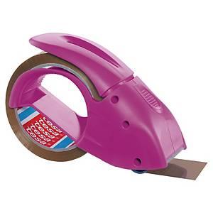 Handabroller Tesa Pack n Go, 50 mmx66 m, pink