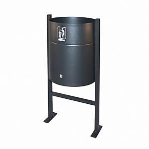 Caixote do lixo para exterior Cilindro P65 - 43 L