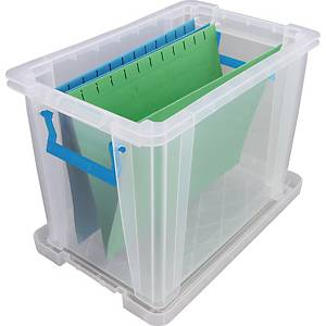 Whitefurze Allstore Box PP 18.5L Clear