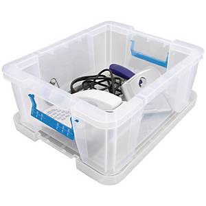Whitefurze Allstore Box PP 24 Litre Clear
