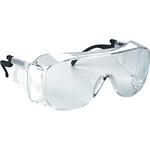 Überbrille Infield 9085 111 Visitor XL, Polycarbonat, klar