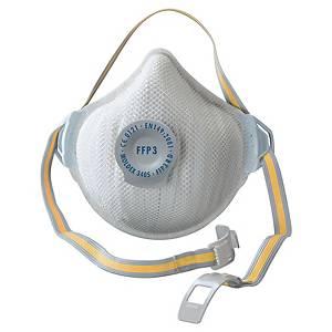 Masque coqué jetable Moldex Air plus 3405 FFP3 - avec soupape - par 5