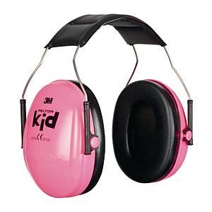 Kapselgehörschutz 3M H510AK, Kid, 27dB, neon pink