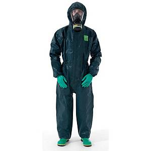 Microchem 4000 disposable coverall model 111 - Green - size L