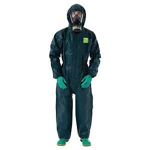 Tuta di protezione monouso Ansell Alphatec® 4000 verde tg L