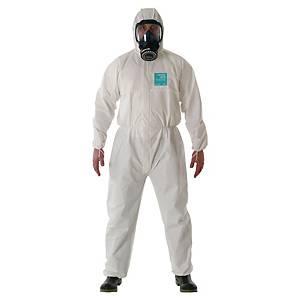 Tuta di protezione monouso Ansell Alphatec® 2000 standard bianco tg L