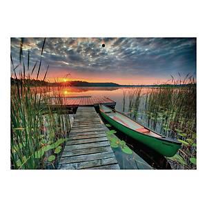 Kalendarz trójdzielny CRUX, wypukły, Złota Jesień